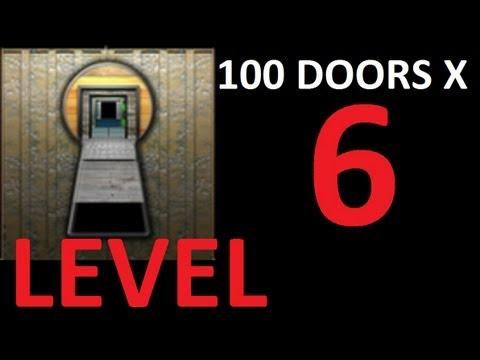 100 doors x level 6 door 6 walkthrough solution youtube for 100 doors door 9 solution