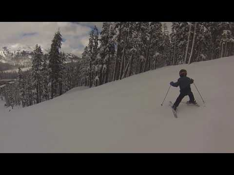 Lucas Cain | Age 6 | Killing Sierra-at-Tahoe on Lower Main 2/26/17