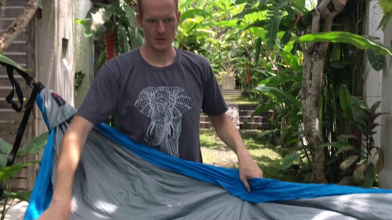 best backyard hammock flying squirrel hammock review youtube
