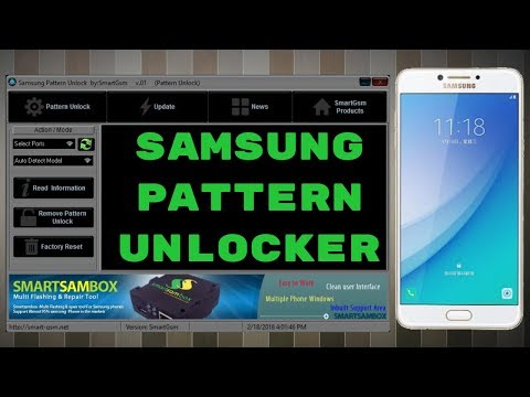 Samsung Pattern Unlocker Tool Latest Update 2018