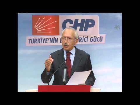 Republican People's Party CHP leader Kemal Kilicdaroglu