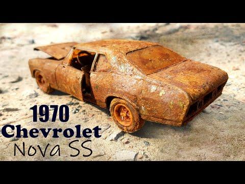 1970 Chevrolet Nova SS Model Car Restoration   Vintage Nova SS Restore