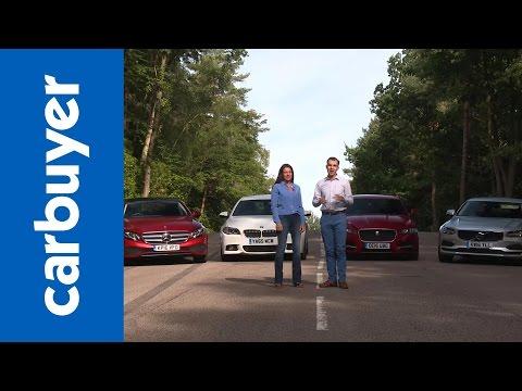 Mercedes E-Class vs BMW 5 Series vs Jaguar XF vs Volvo S90 – Carbuyer