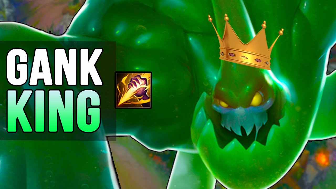 League Of Legends Zac Gameplay