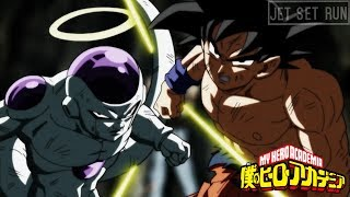 Jet Set Run/You Say Run goes with everything - Goku and Frieza eliminate Jiren (DBS 131)