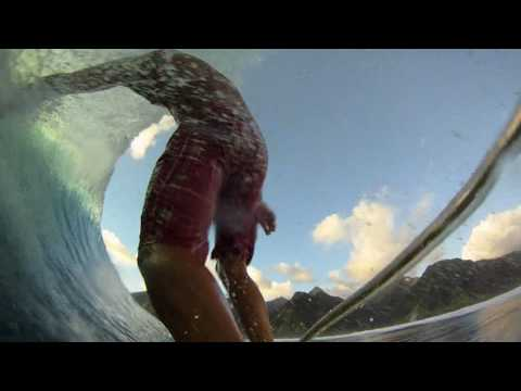 GoPro HD HERO Camera: Teahupoo Barrels with Kailani Jabour