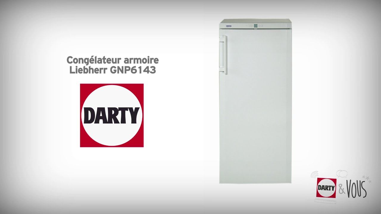 Conglateur Liebherr GNP6143 Dmonstration Darty YouTube