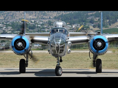 """Close-up with the B-25 """"Maid in the Shade"""""""