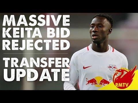 Liverpool Have £57m Keita Bid Rejected | Transfer Update