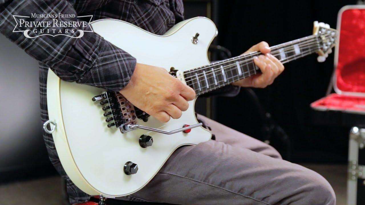 abca7cd6cdb EVH Wolfgang USA Edward Van Halen Signature Electric Guitar - YouTube