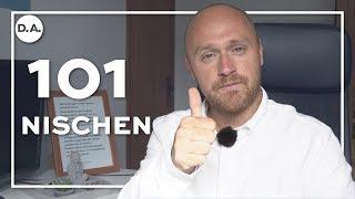 101 Nischen-Ideen für dein Online-Business