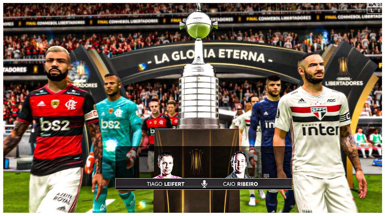 Flamengo x São Paulo - FINAL da Libertadores 2020 - FIFA ...