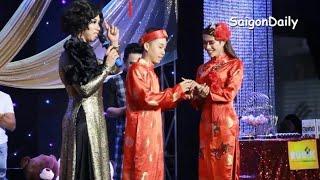 Lô tô : Mr Nguyễn Trung công khai cưới Lumi trên sân khấu Đoàn Lô Tô Tân Thời