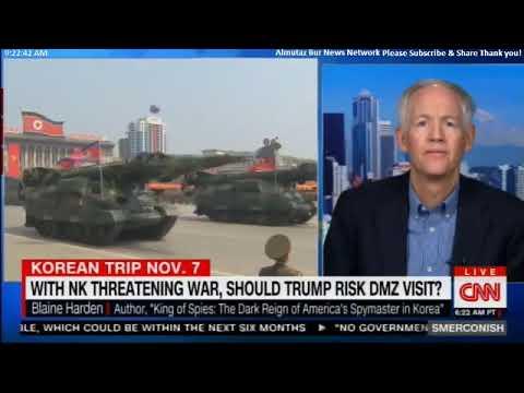 Smerconish & Blaine Harden on Should Donald Trump Risk DMZ Visit  #Smerconish @blaineharden