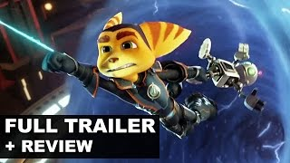 Ratchet & Clank Official Trailer 2016 + Trailer Review : Beyond The Trailer