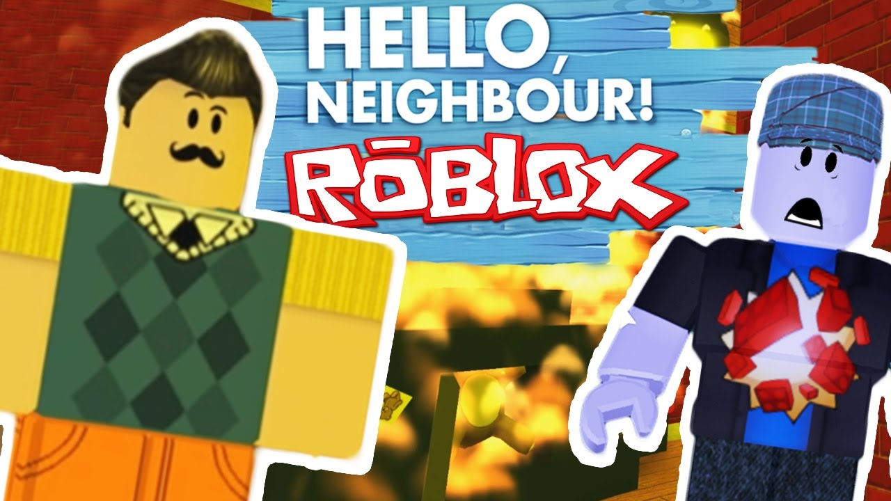 Hello Neighbor In Roblox Burning The Teddy Let S Play
