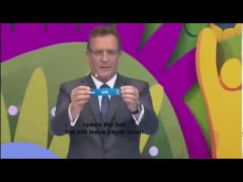 Brazil FIFA World Cup 2014 Draw Manipulation (English Subtitles)