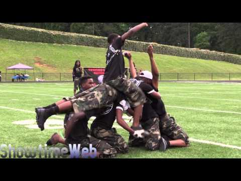 Towers vs Langston Hughes High Marching Band - 2016 ATL Ultimate Band Clash Jamboree BOTB