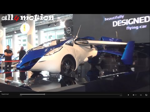 AeroMobil 3.0 Flying car 200Km/h | Top Marques Monaco