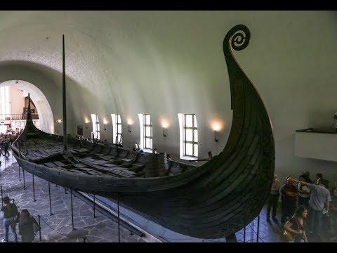 Осло: Музей кораблей викингов/Oslo: Viking Ship Museum