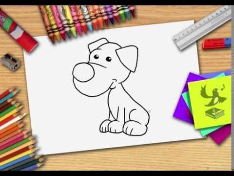 Wie Zeichnet Man Einen Hund Hund Zeichnen Lernen