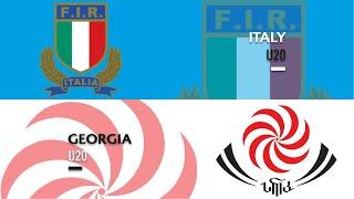 World Rugby U20 Championship 2019 - Italy U20 v Georgia U20