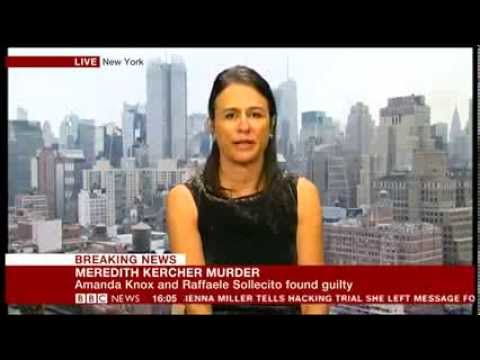 Nina Burleigh talks to BBC about Amanda Knox
