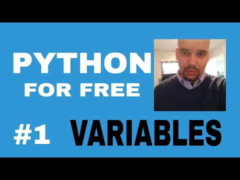 Learn Python for High Paying Job Free Course #1 Variables