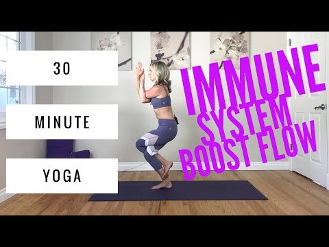 Yoga for the Immune System - 30 Minute squeezing, cleansing flow