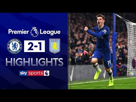 Mason Mount thunder volley secures Chelsea win | Chelsea 2-1 Aston Villa | Premier League Highlights