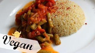 Bohnengemüse - Green Beans Side Dish | Yummy Quickie