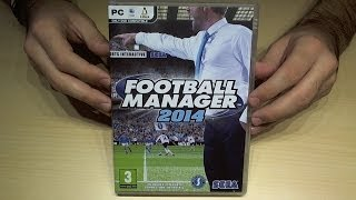 UNBOXING FOOTBALL MANAGER 2014  (ita)