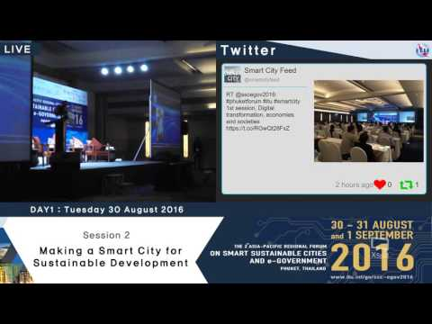The 2nd Asia-Pacific Regional Forum : On Smart Sustainable Cities and E-government (Day1_part2)