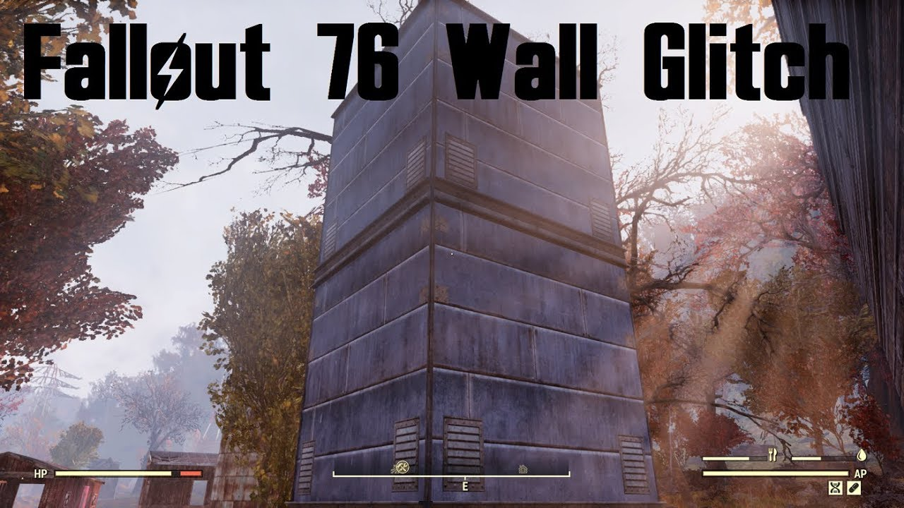 Fallout 76 Camp Wall Building Glitch Infinite Wall Placement