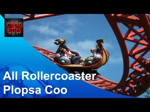 All Rollercoasters Plopsa Coo ( 2013 )