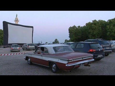 شاهد: مهرجان سينمائي في السيارات لا الصالات في مدينة بوردو الفرنسية  …  - 20:59-2020 / 5 / 17