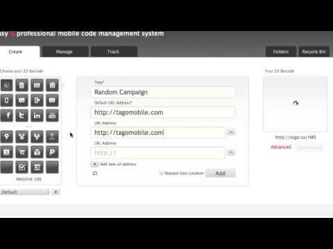 Randomizing QR Code URLs | TAGO