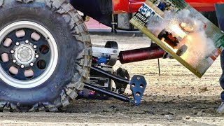 Truck/tractor PULL FAILS, CARNAGE, WILD RIDES OF 2019