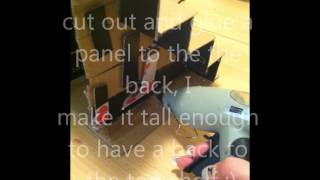 How to make a nailpolish stand out of cardboard