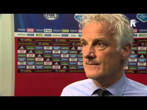 Fred Rutten na afloop van Feyenoord - Vitesse