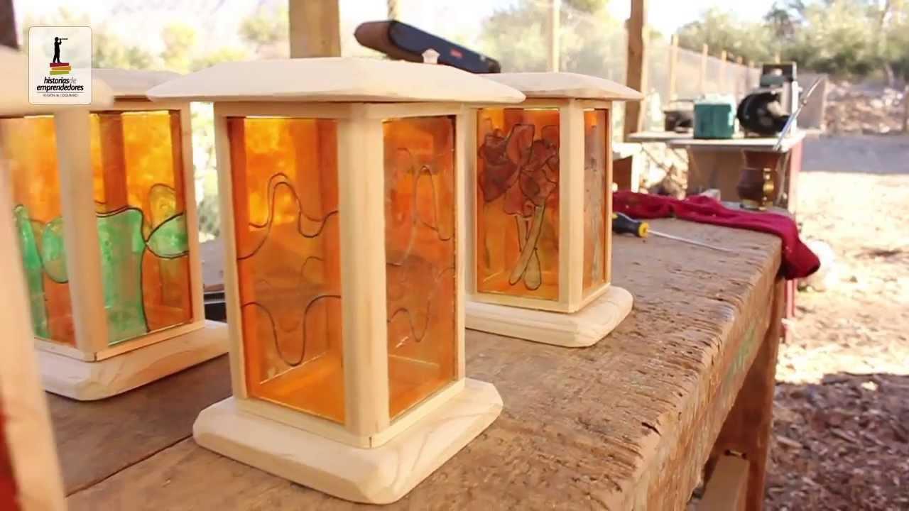 L mparas artesanales historias de emprendedores youtube for Como hacer artesanias en casa
