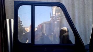 Двери с опускными стеклами на УАЗ 469/315х/Hunter. Обзор одного решения.