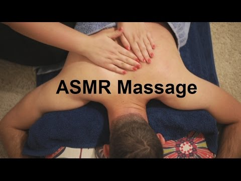 ASMR Back, Shoulders, Neck & Scalp Massage | Carrot Oil | No Talking