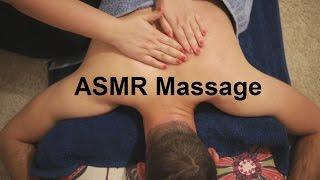ASMR Back, Shoulders, Neck & Scalp Massage | Carrot Oil | No Talking