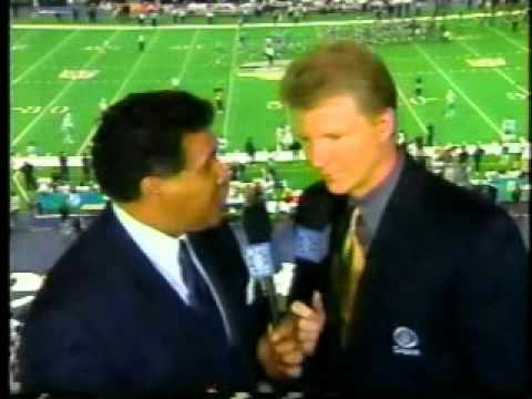 CBS Football Playoff Intro - January 2000