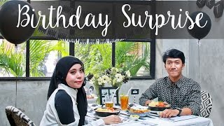 Birthday Surprise For Boyfriend  - Black and White