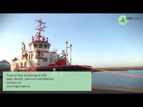 LNGEurope Bunkering LNG to the world's first LNG powered tug ! 2014