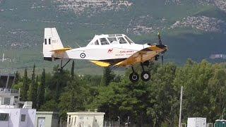 H.A.F. PZL-Mielec M-18 Dromader  Athens Flying Week Tatoi Airshow