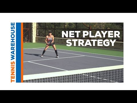 Tennis: Doubles Net Player Strategy with Bethanie Mattek-Sands