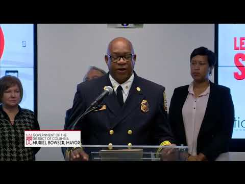 Mayor Bowser Announces New Life-Saving Technologies, 10/26/17
